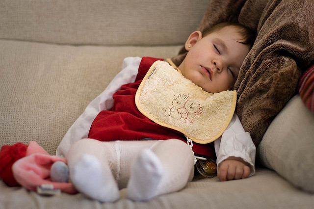 Mittagsschlaf bei Kleinkindern